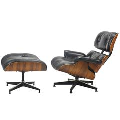 Eames 670 / 671 Lounge Chair and Ottoman by Herman Miller