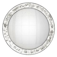 Vintage Convex Mirror Glass