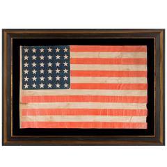 36 Star Antique American Parade Flag
