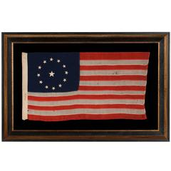 13 Star Flag with Stars in the 3rd Maryland Pattern