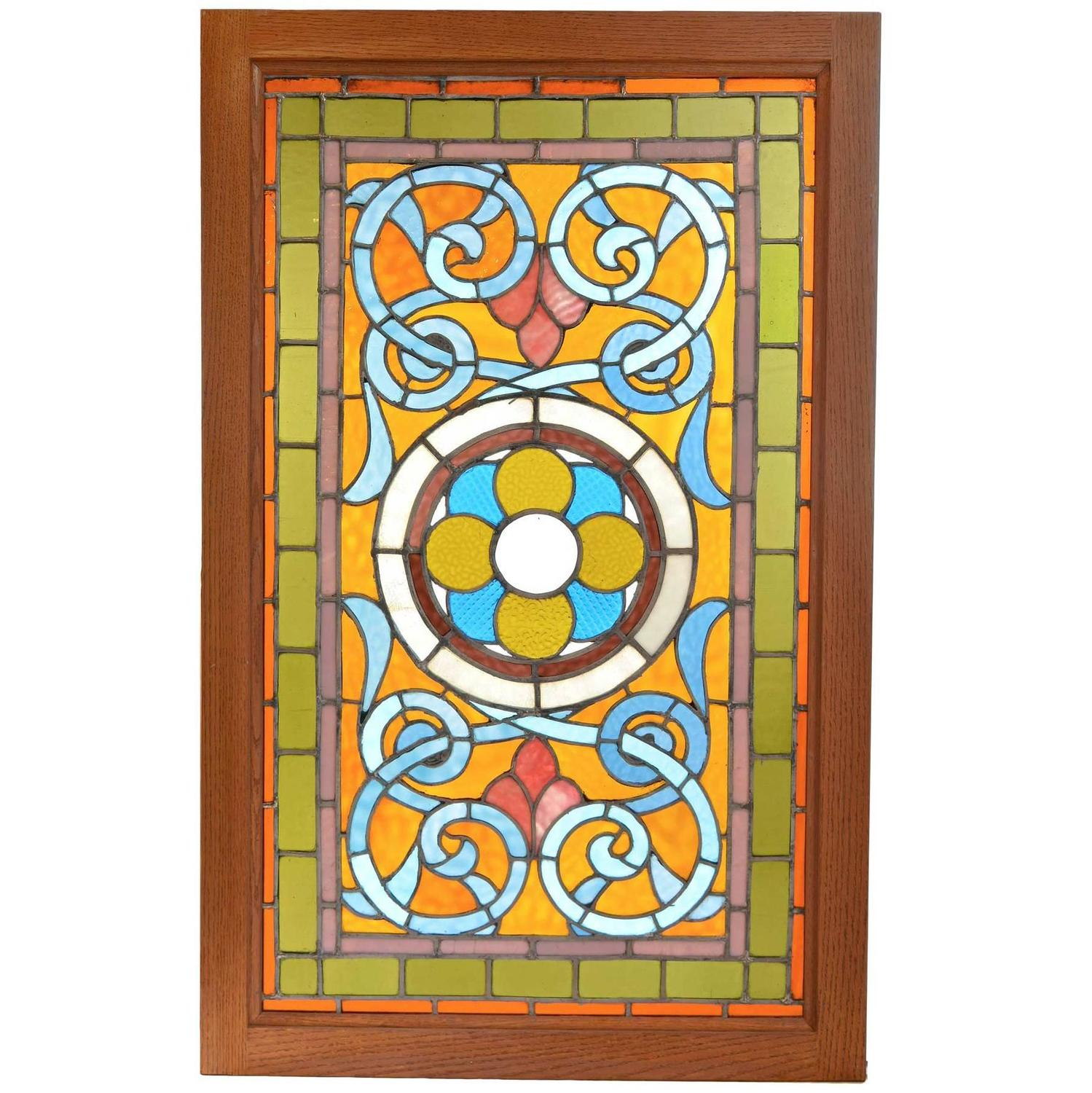 Stained Glass Windows - 188 For Sale on 1stdibs