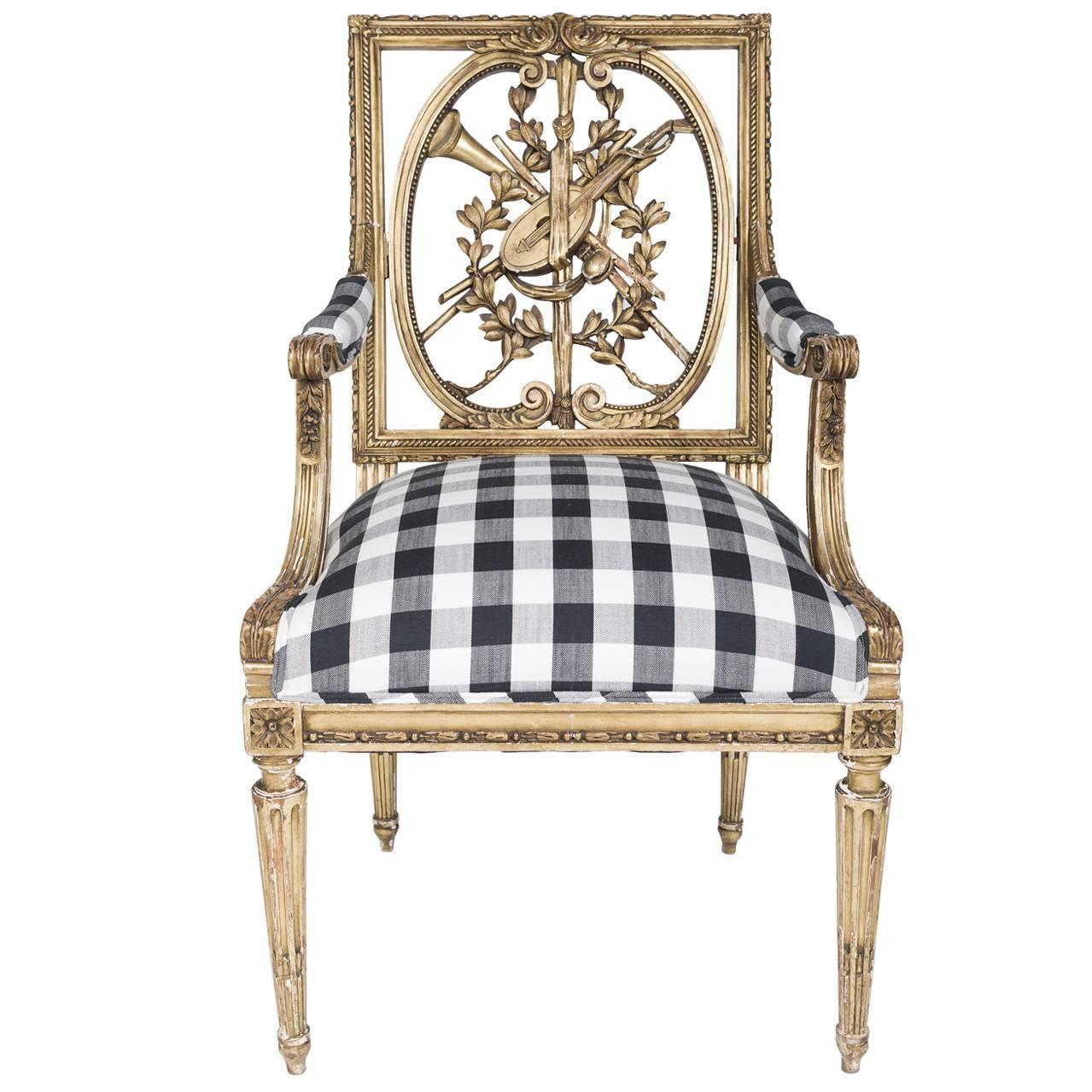 18th century louis xvi chair for sale at 1stdibs - Louis th chairs ...