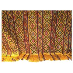 Bhutanese Silk Woven Kira Textile, from the Royal Weavers of Bhutan