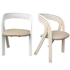 Bent Bamboo Dining Chairs by Rohe Noordwolde Set of Six