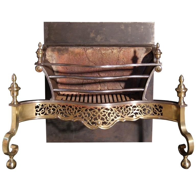 Late 19th Century Brass Fire Grates For Sale At 1stdibs
