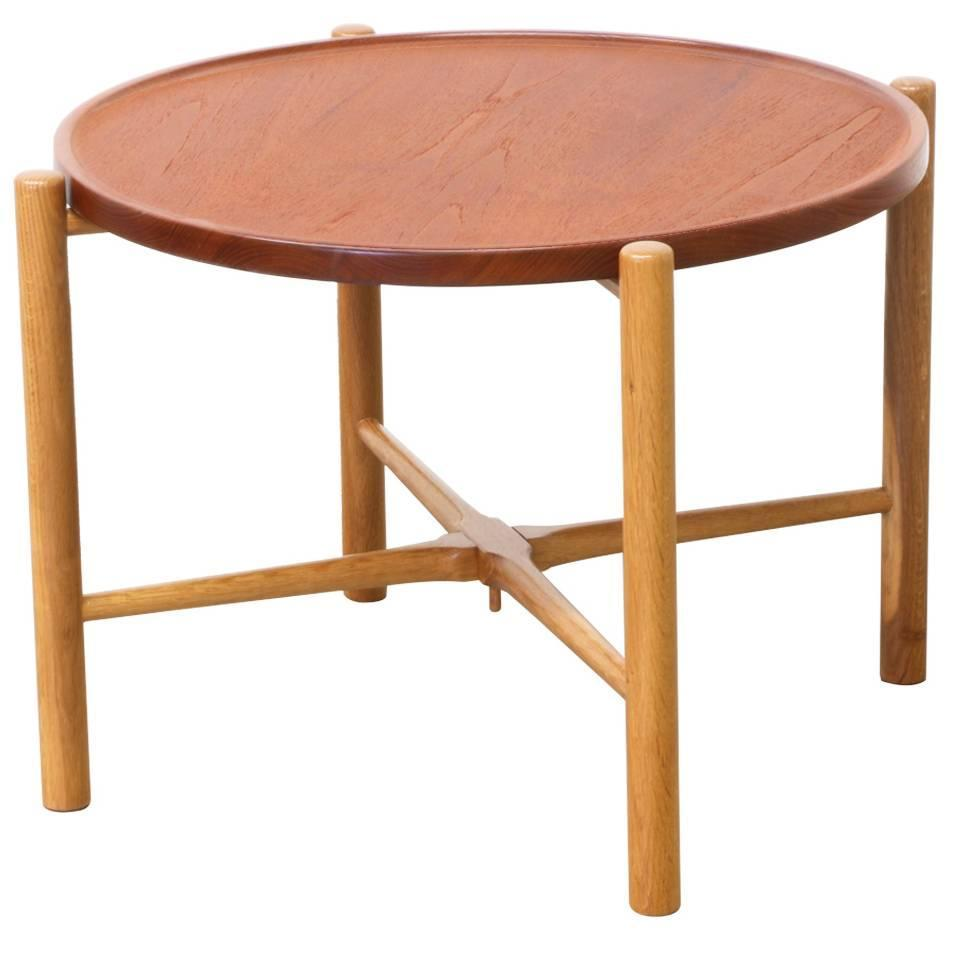 Hans J Wegner Reversible Folding Tray Top Coffee Table For Andreas Tuck At 1stdibs