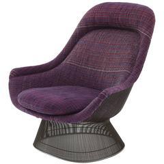 Warren Platner Knoll Bronze Throne Chair