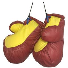 Unique Pair of Vintage Oversized Boxing Gloves