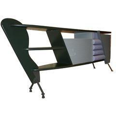 """""""Bertrand"""" Desk by Massimo Iosa Ghini, Italy, circa 1987"""