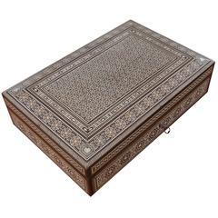 Syrian 19th Century Inlay Box