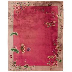 Rose Chinese Deco Rug