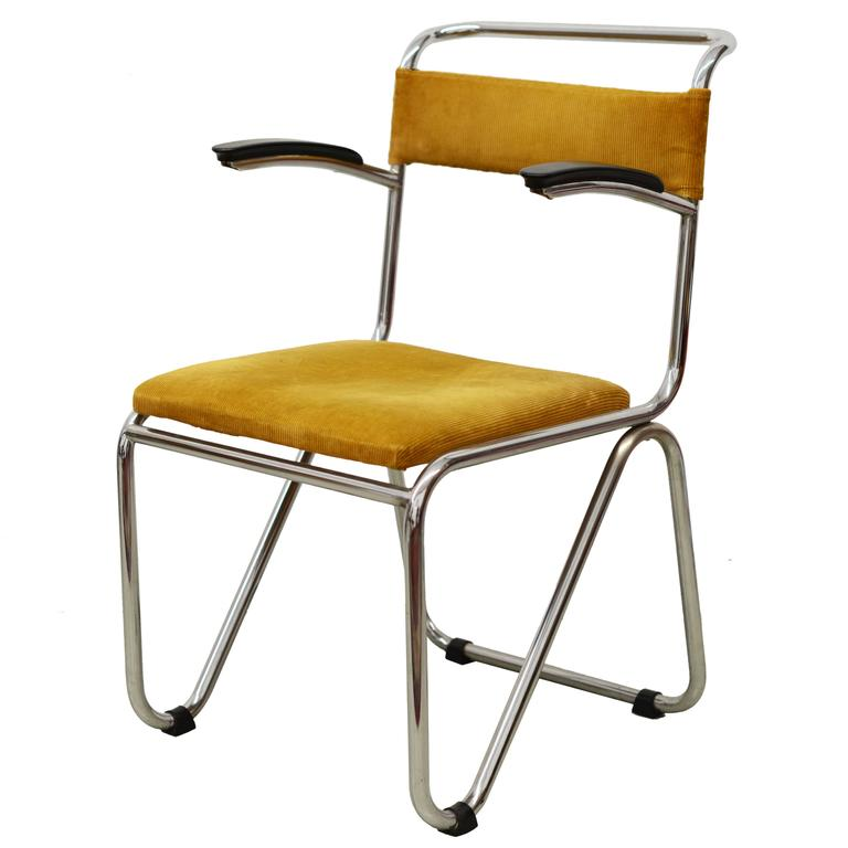 Combauhaus Chair Designs : Gispen, Tube Furniture, Bauhaus Period, Dutch Design For Sale at ...