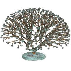 Bush Form Sculpture by Harry Bertoia