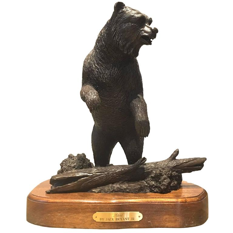 Bronze Bear Statue For Sale At 1stdibs