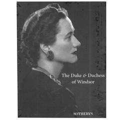 """Duke & Duchess of Windsor - SOTHEBY'S"" 1997 Catalogues Books"