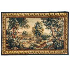 19th Century Flemish Verdure Tapestry