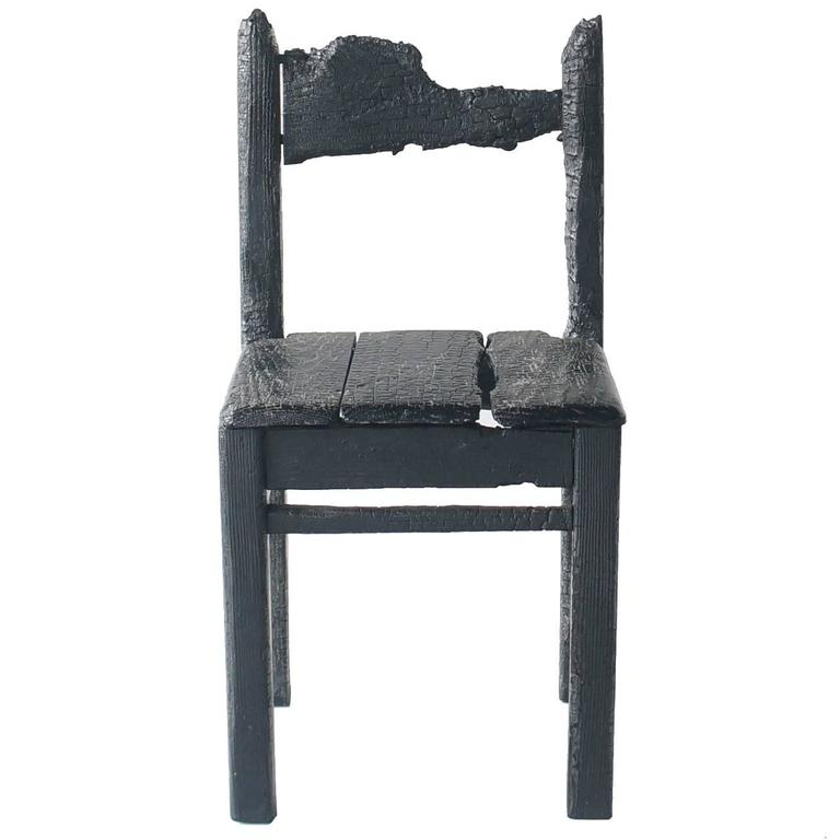 Maarten Baas Smoke Child Chair For Sale