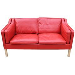 Børge Mogensen Sofa, Model 2212, Fredericia Furniture, 1980er Jahre
