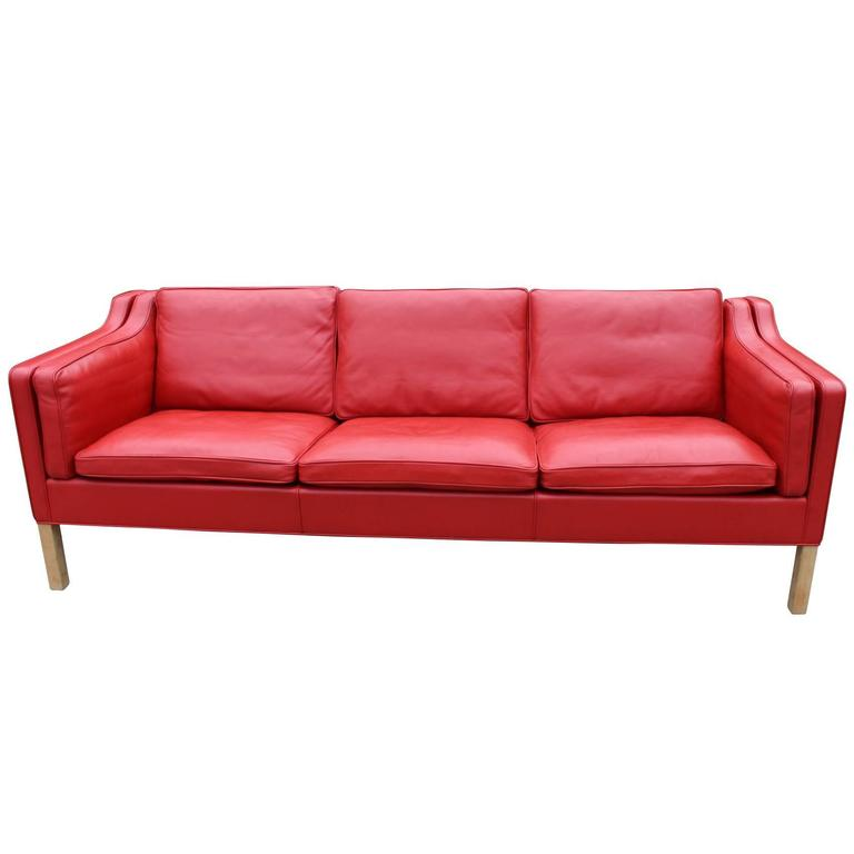 Børge Mogensen Sofa, Model 2213, Fredericia Furniture, 1980s
