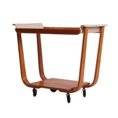 Serving Trolley Rolo Model PB01 by Cees Braakman for UMS Pastoe, circa 1952
