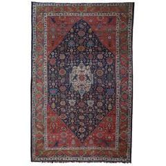 Large Antique Bidjar Carpet