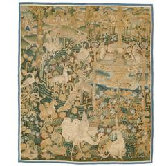Early 16th Century Flemish Late Gothic Tapestry