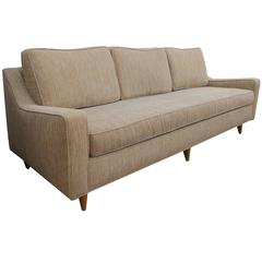 Stylish and Good Quality American Mid-Century Heywood-Wakefield Triple-Seat Sofa