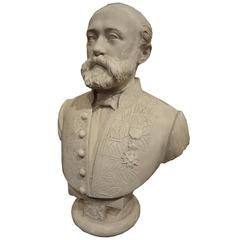 French Statesman Bust