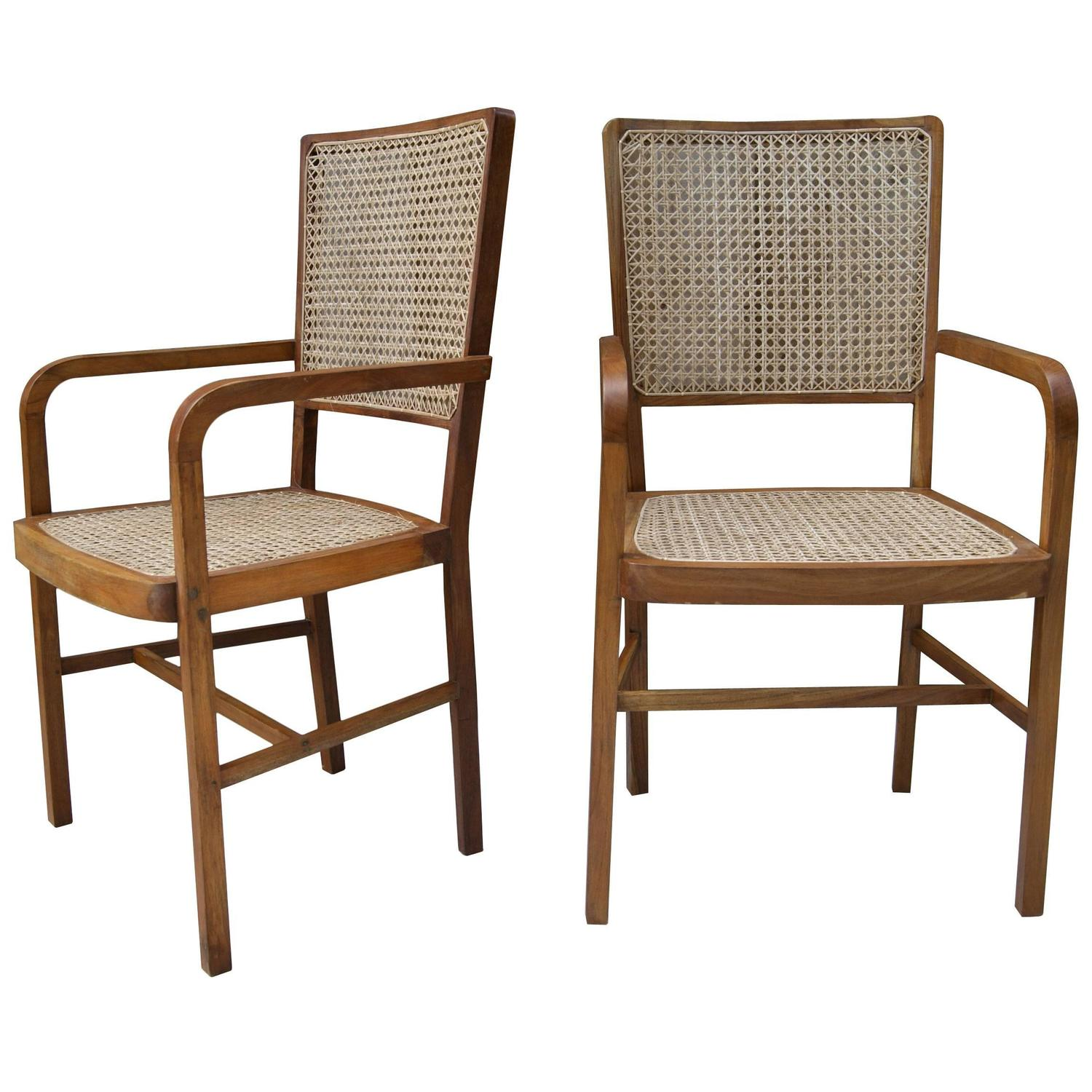 1 of 10 unique teak and cane south asian dining chairs for for Oriental dining room furniture for sale