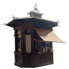 Kiosk of Rovereto, Italy, 1910