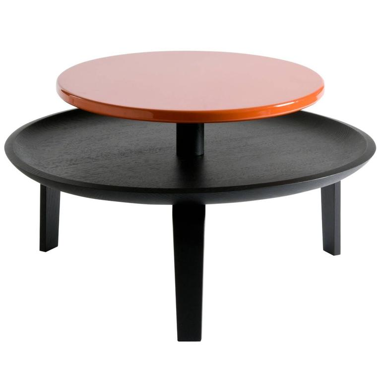 secretary black and red coffee table for sale at 1stdibs