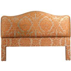 Fortuny Fabric Upholstered King Headboard