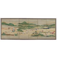 Seasonal Festivals in Kyoto, Painting