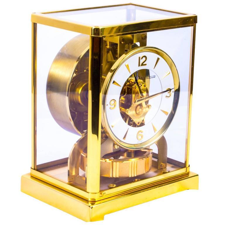 Vintage Atmos Jaeger Le Coultre Mantle Clock Circa 1960