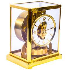 Vintage Atmos Jaeger le Coultre Mantle Clock, circa 1960