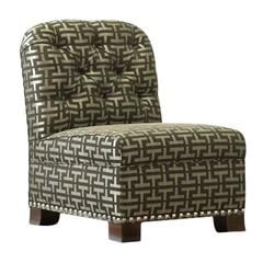"Candace Barnes Now ""Lotus"" Petite Slipper Chair"