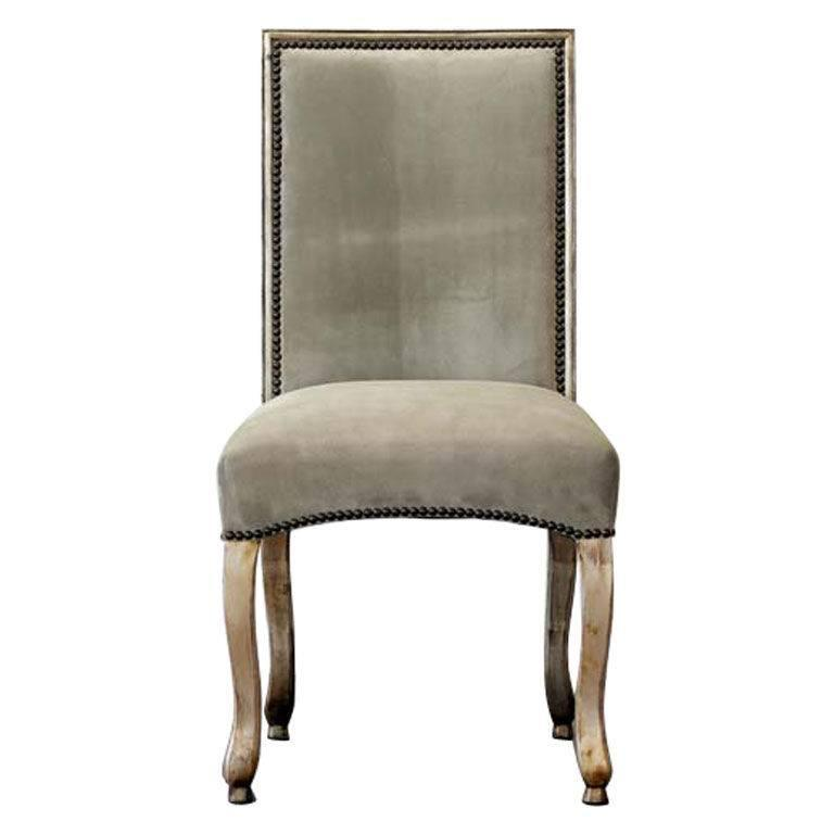 "Candace Barnes Now Design Custom ""Parisienne"" Dining Chair For Sale"