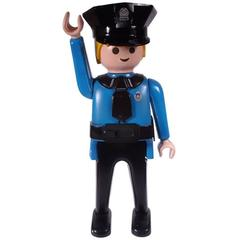 Rare and Monumental Playmobil Man Store Display
