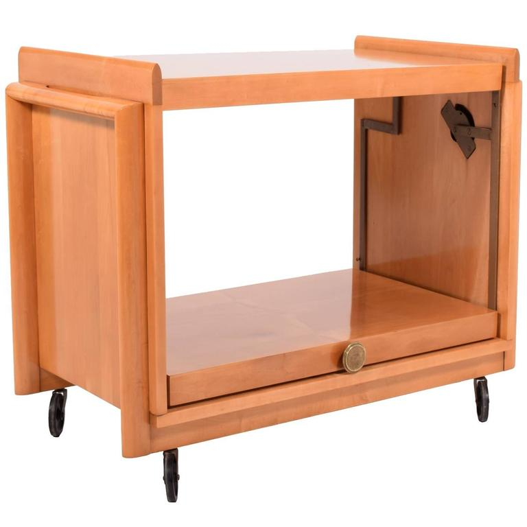Tea Cart by John Keal for Brown Saltman 1