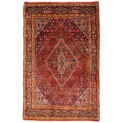 Bidjar Semi Antique Vintage Persian Rug