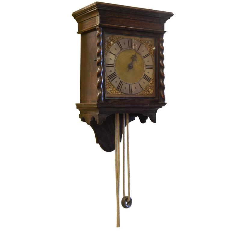 longcase clock birdcage movement