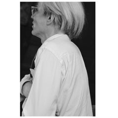 "Robert Levin, ""Andy Warhol Portrait N.2 at Factory, 1981"" Framed Print, 2015"