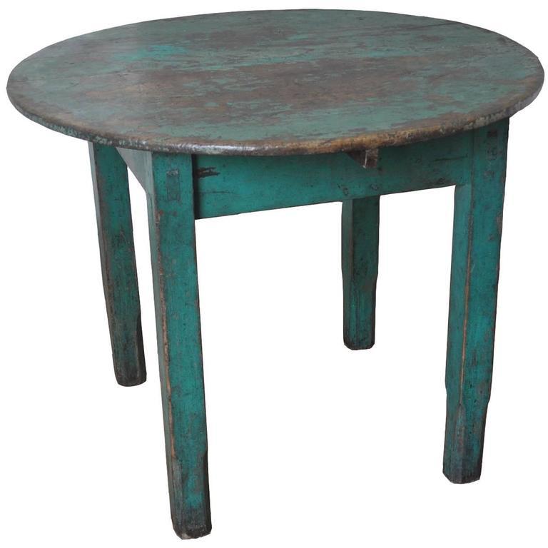 Handmade, 1940s Table from Guatemala with Beautiful Patina
