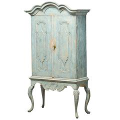 Rococo Cabinet with a Pair of Doors, Behind the Doors Numerous Drawers