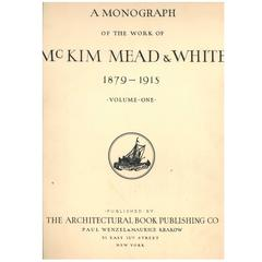Monograph of the Works of McKim Mead & White, Folios