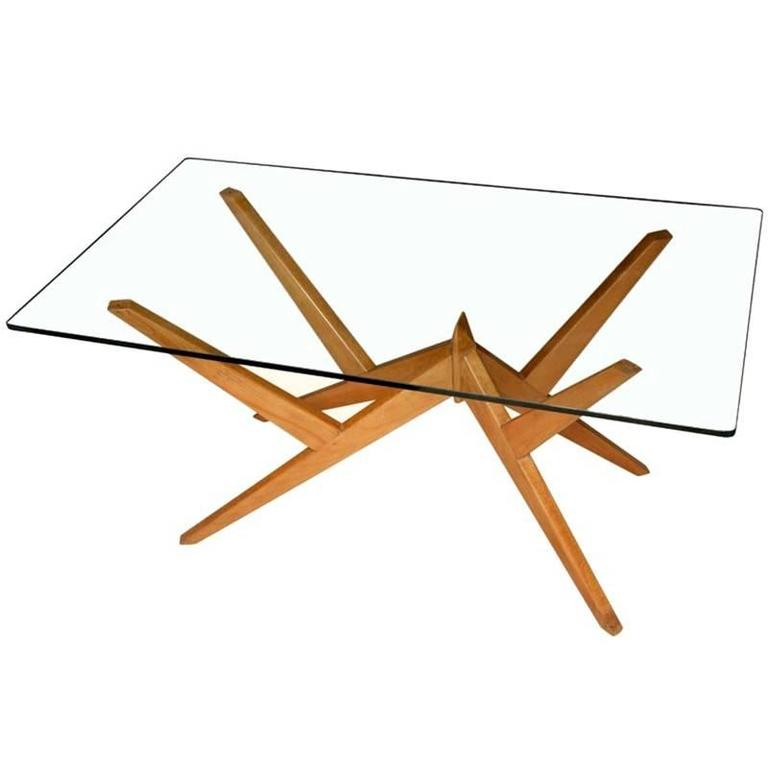 Occasional Table in the Style of Mollino, Italian, 1950s