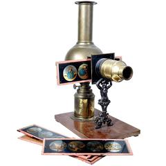 Rare German Ernst Plank Magic Lantern
