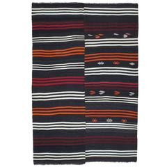 Striped Goat Hair Kilim