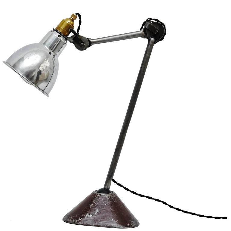 lampe gras table lamp circa 1930 for sale at 1stdibs. Black Bedroom Furniture Sets. Home Design Ideas
