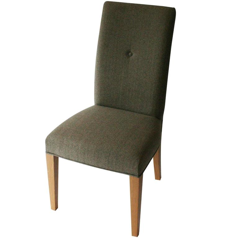 Gosling Classic Dining Chair With Oak Frame And Upholstery Details At 1stdibs